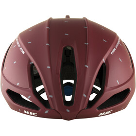 HJC Furion Road Helmet matt pattern red